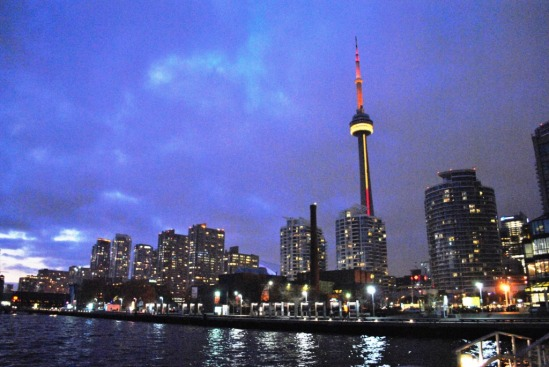 CN Towers - View from the harbour front