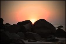 Sunset at Palolem  Goa
