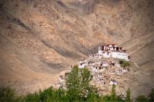 Monastery enroute to Changla
