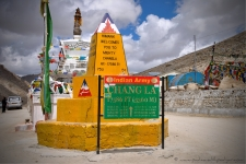Changla Pass - 3rd highest motorable road in the world