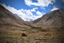 Views around Darbuk after descending from Changla pass - 4