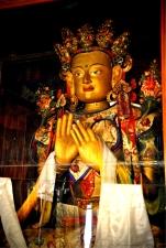 Buddha inside the Likir Monastery