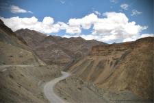 Road near Lamayuru