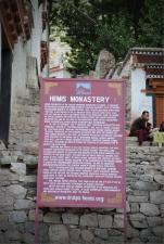 Entrance to the Hemis monastery