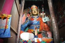 Padmasambhava statue at Hemis Monastery