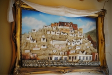 Thikse Monastery - Resemblence to the Potala palace in tibet