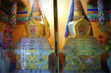 Gold and Silver Stupas at Thikse