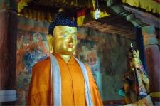Buddha in the inner sanctum
