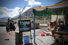 Tsomo.. had a bowl of delicious Thukpa here