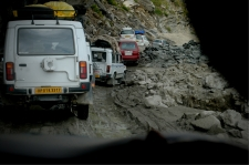 Horrible roads towards Marhi